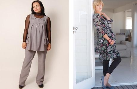 Блузы, кофты и свитера для беременных