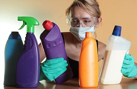Бытовая химия и дети