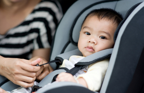 Грудной ребенок в авто