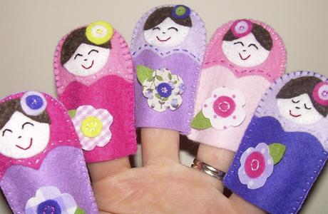 Книжки с пальчиковыми куклами