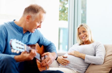 Музыка во время беременности