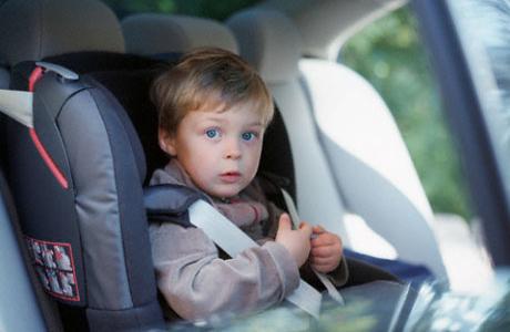 Поездка в авто с ребенком 1-3 ле