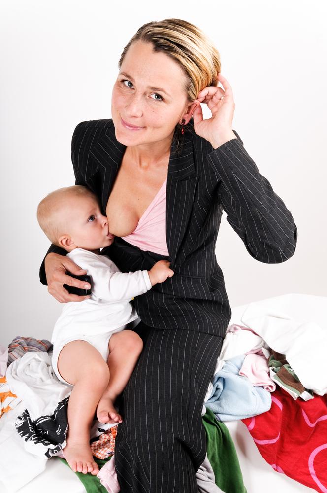 Как совместить материнство и карьеру