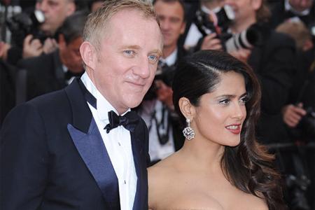 Сальма с мужем