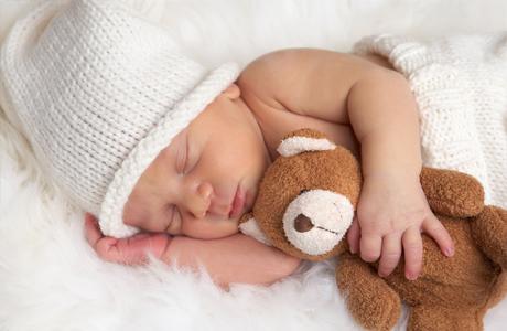 Сколько должен спать новорожденный ребенок