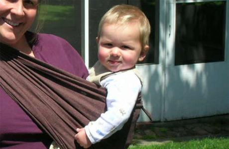 Слинг-шарф для детей