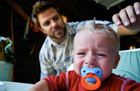 Как правильно стричь малыша
