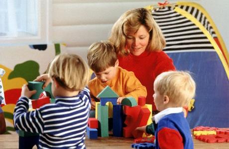 Воспитание в группах