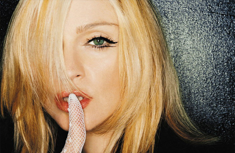 Всемирно известная поп-дива Мадонна