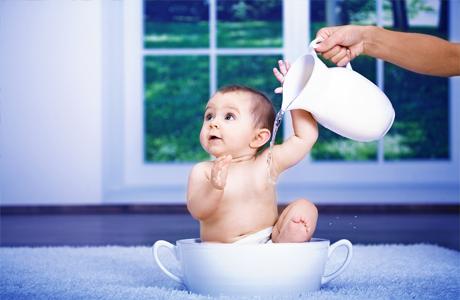 Закаливание полезно для ребенка