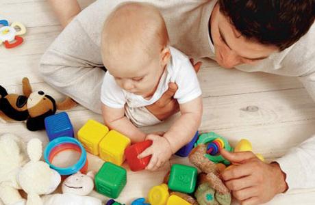 Игра с малышом