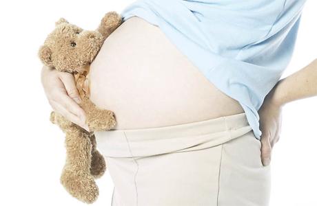 Боли в спине у беременных