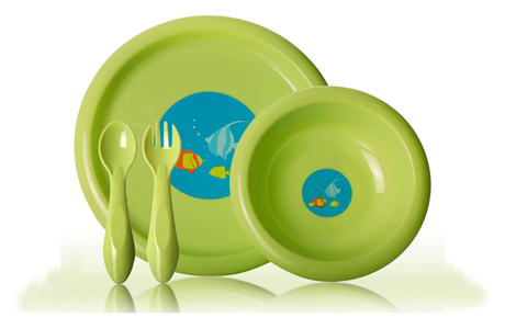 Какой должна быть посуда для ребенка