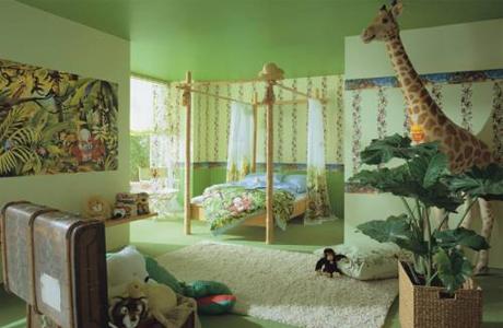 Комната – джунгли