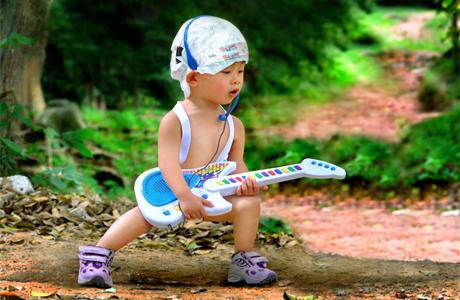 Малыши с музыкальным талантом