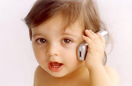 Первый мобильный телефон твоего малыша