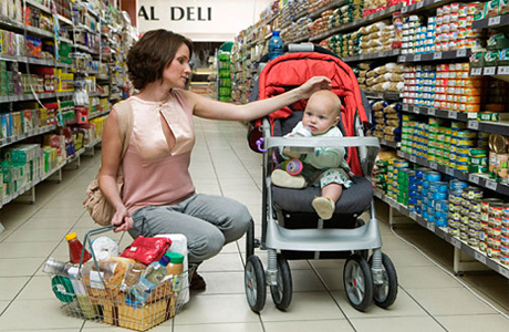 Поход в магазин с ребенком