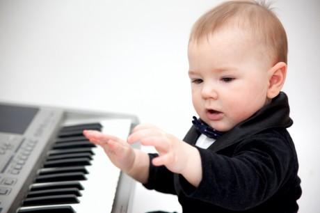 Склонность малыша к музыке