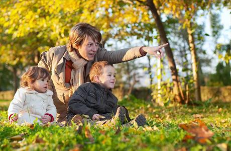 Творческие прогулки с ребенком