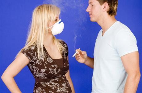 Влияние пассивного курения