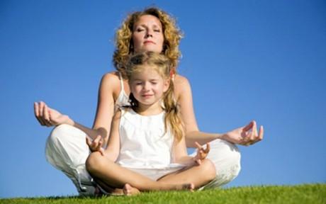 Йога - детское счастье