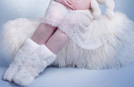 Зимняя обувь беременной