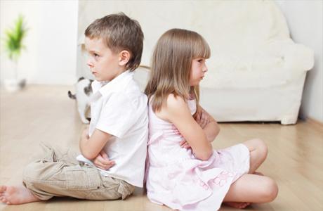 Детские ссоры даже в чем-то полезны