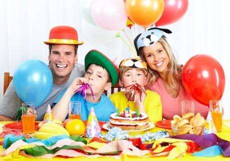 Оформление стола на День Рождения ребенка