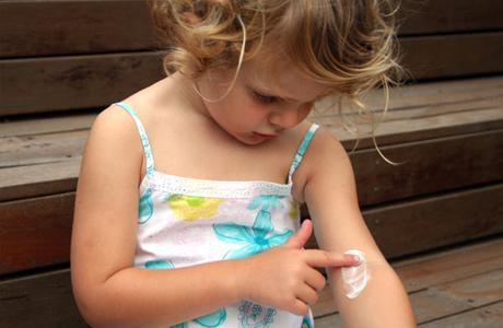 Защищаем кожу малыша