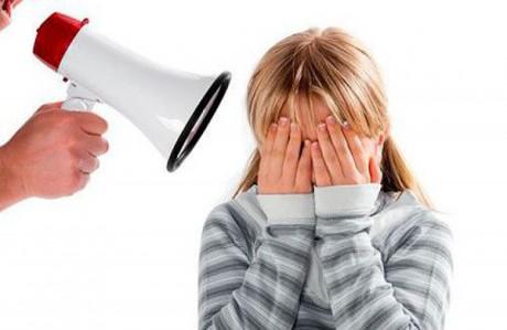 Как кричать на ребенка правильно