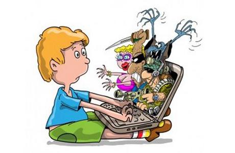 Защитить ребенка от компьютера