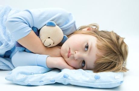Малыш не хочет спать