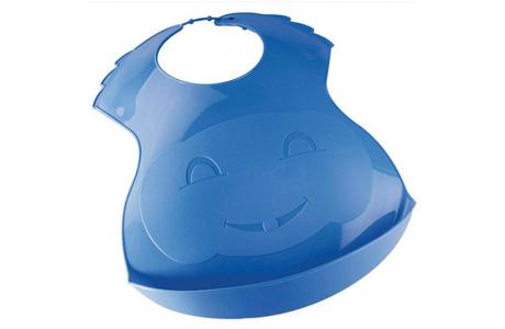 Пластиковый слюнявчик