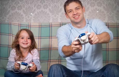 Игры для папы и дочки