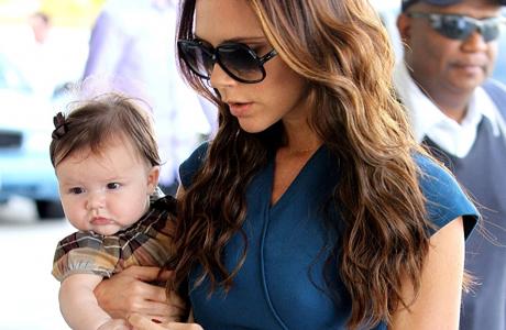 Виктория с дочкой