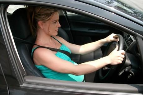 Положение беременного водителя