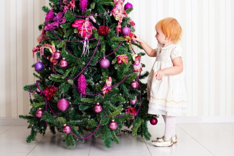 Новый год с детьми - украшаем помещение