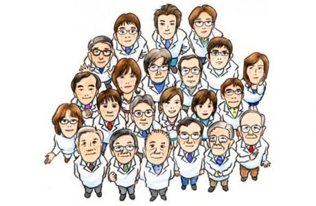 Команды специалистов различных сфер медицины