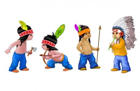 Интересны обычаи индейцев при рождении ребенка