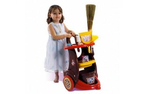 Приобщить ребенка к уборке