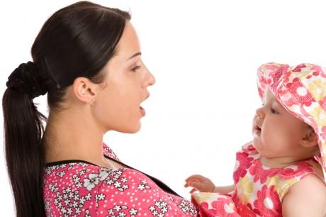 Интонация голоса ребенка важна для ребенка
