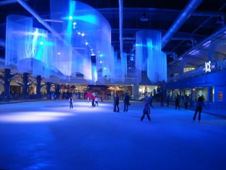 На коньках в ТРЦ DREAM TOWN