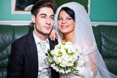 Юлия Салибекова с мужем
