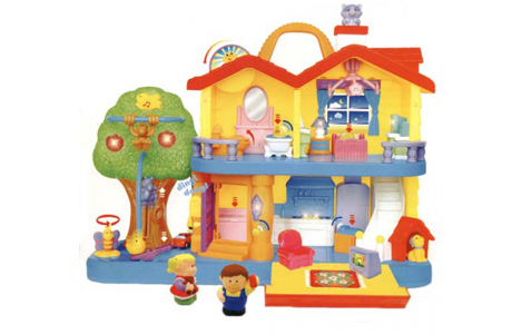 Игровой набор Загородный дом для детей