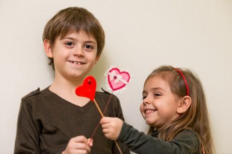 День Валентина детям