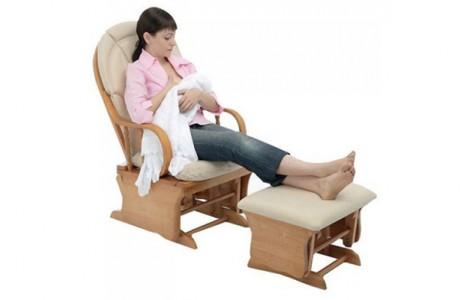 Кресло-качалка для кормящей мамы Poltrona Piera