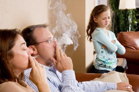 Детское пассивное курение и женское бесплодие