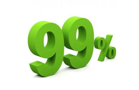 Повторный тест справится с заданием с точностью 99%