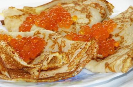 Главным блюдом на Масляницу считаются блины
