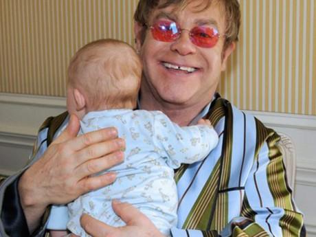 Элтон Джон с сыном